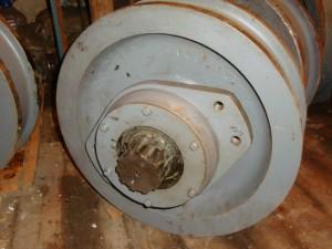 колесо крановое