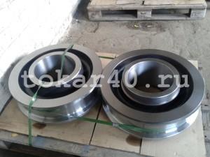 Колесо крановое К2Р 500х100 для ККС-10 и ККС-12,5